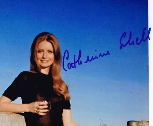 Catherine Schell Autograph Signed Photo James Bond